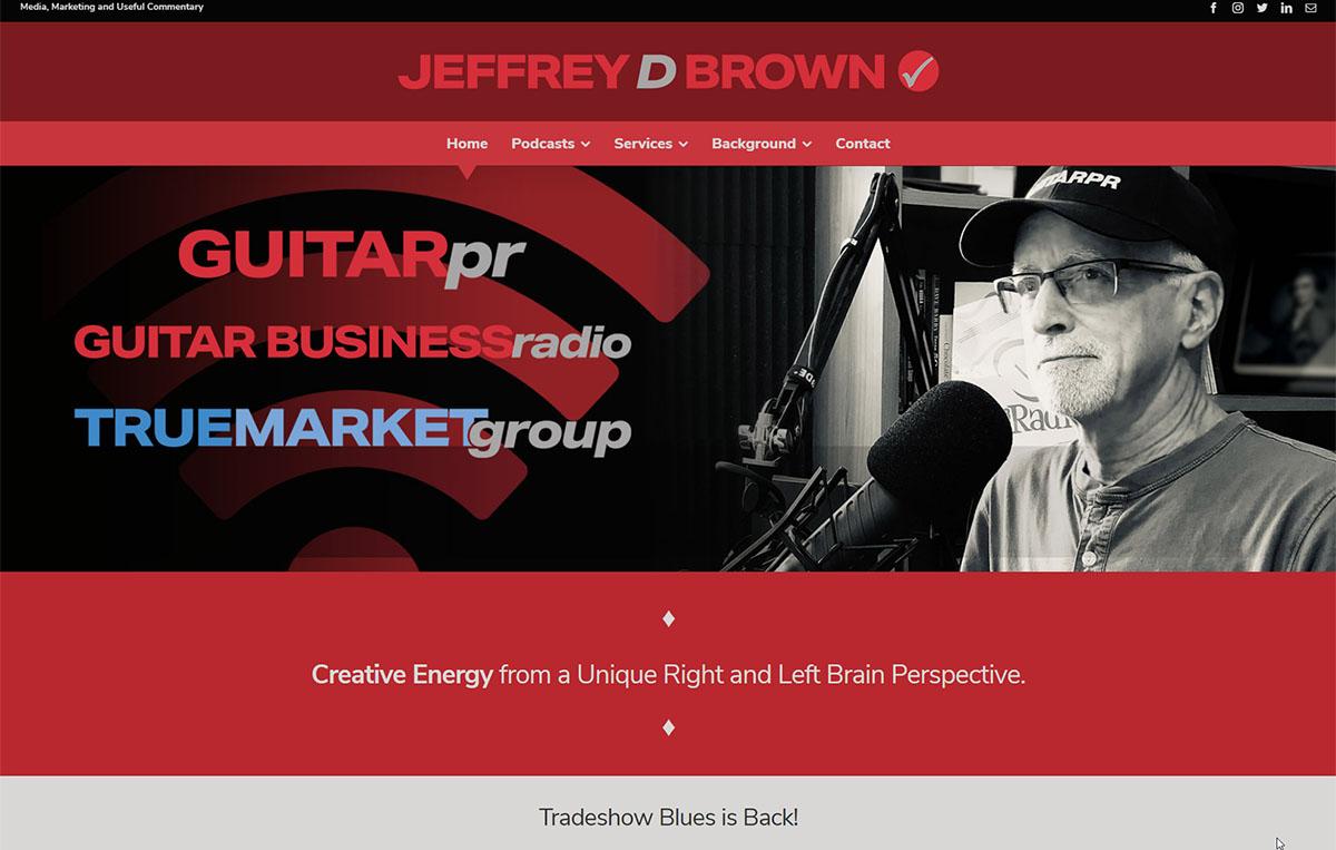 Jeffrey D Brown